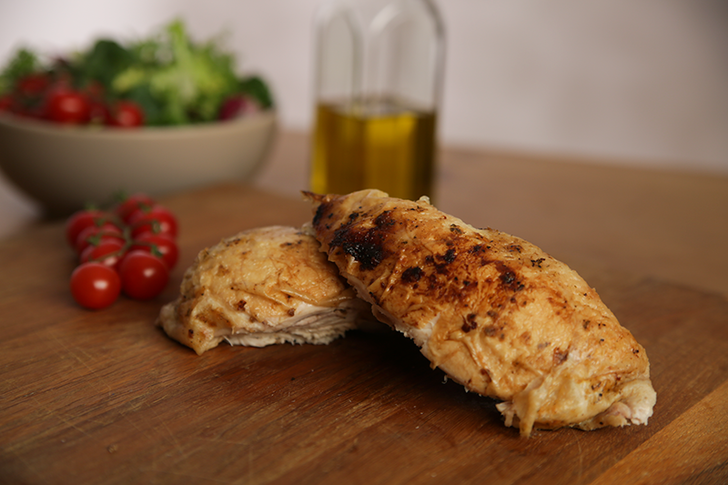 Fresh chicken breast fillets