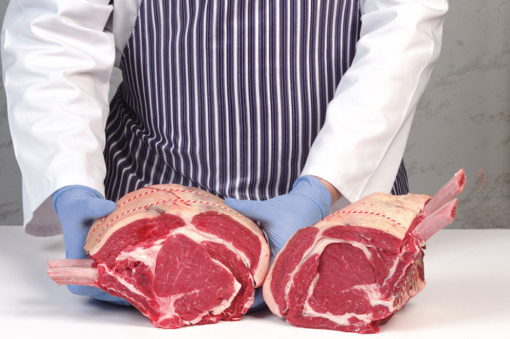 French trimmed rib of beef